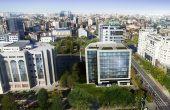 DAY TOWER birouri de închiriat vedere aeriană Tribunalul București