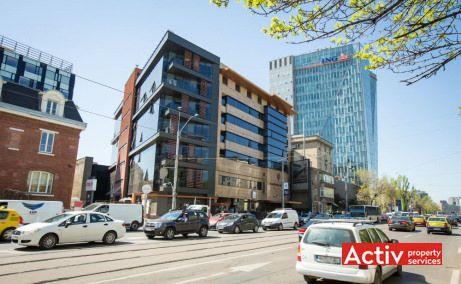 Avantgarde Office Building închirieri spații birouri vedere către Piața Victoriei