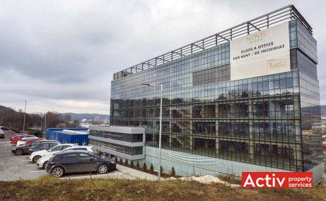 Novis Plaza închiriere birouri Cluj-Napoca nord imagine exterioară a clădirii