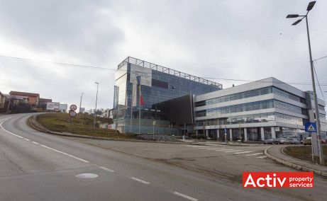 Novis Plaza birouri de închiriat Cluj-Napoca vedere din strada Tăietura Turcului