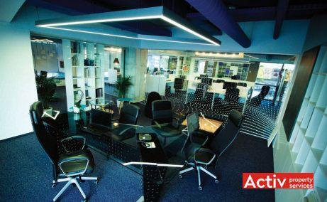 Băneasa Offices spațiu de birouri București zona nord fotografie interioară