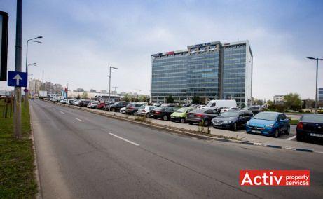 Anchor Plaza spații de birouri București Plaza perspectivă încadrare în zonă