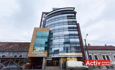Maestro Business Center închiriere birouri Cluj-Napoca central imagine fațadă