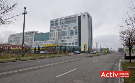 Vox Technology Park închirieri spații birouri Timișoara perspectivă încadrare în zonă