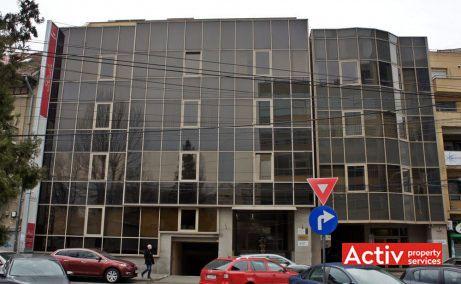 Dr. Felix 57 spații birouri mici zona centrală Piața Victoriei vedere fațadă