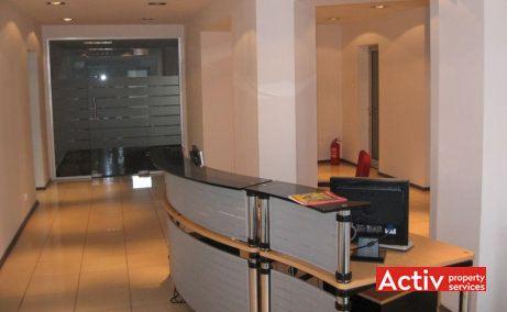 Dacia Business Center birouri mici de închiriat în București centru recepție