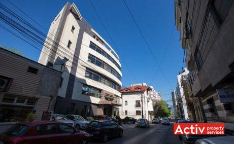 Dr. Felix 17-19 birouri de închiriat în București Victoriei vedere laterală din strada Dr Felix