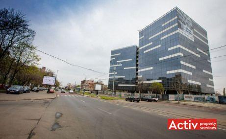 Anchor Plaza Metropol spațiu de birouri zona vest Plaza perspectivă încadrare în zonă