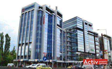 Lamda Med Office Building închiriere birouri mici vedere din Șoseaua București-Ploiești DN1