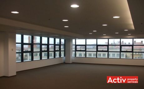 Centrul de Afaceri Sibiu închiriere birouri centru Sibiu fotografie interior open space