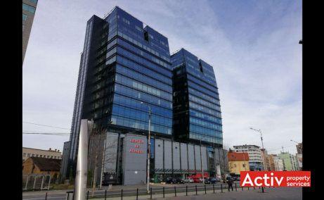 Centrul de Afaceri Sibiu spații birouri Sibiu centru vedere exterioară