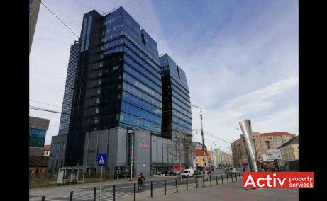 Centrul de Afaceri Sibiu birou de închiriat Sibiu centru perspectivă încadrare în zonă