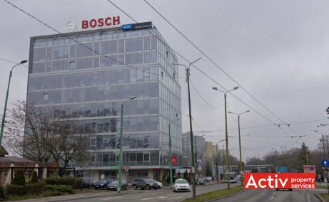 AGN Business Centre spații birouri Timișoara central perspectivă încadrare în zonă