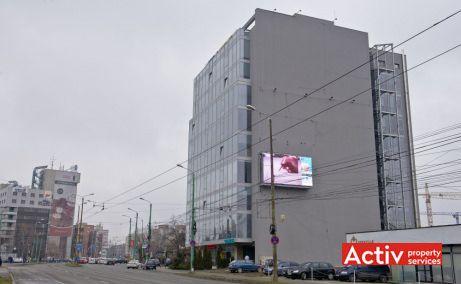 AGN Business Centre birou de închiriat Timișoara vedere din Calea Aradului