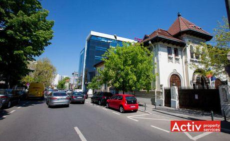 POLONA 68 spații birouri centru Ștefan cel Mare vedere strada Polonă