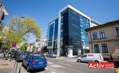 POLONA 68 birou de închiriat București zonă centrală perspectivă încadrare în zonă