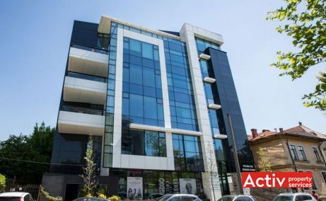 POLONA 68 închirieri spații birouri București zona centrală, vedere fațadă