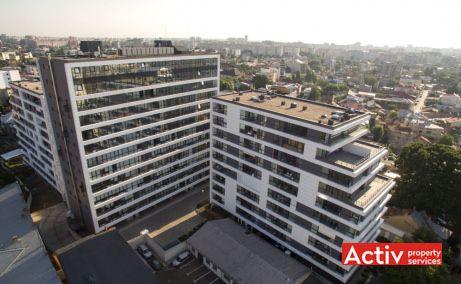 Delea Veche 24 închirieri spații birouri București zona centrală, vedere aeriană