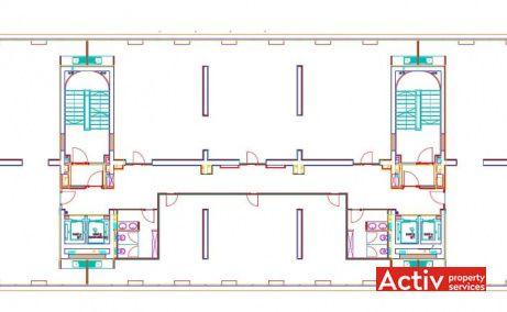 Delea Veche 24 închiriere spațiu birou București centru Calea Călărașilor plan