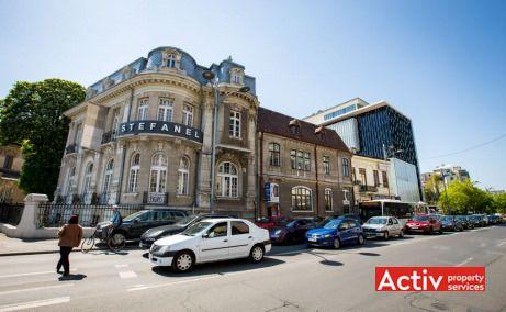Romană Offices spațiu de birouri ultracentral perspectivă încadrare în zonă bd Dacia