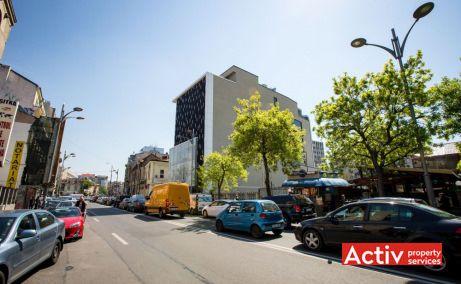 Romană Offices birouri de închiriat în București ultracentral Piața Romană vedere laterală