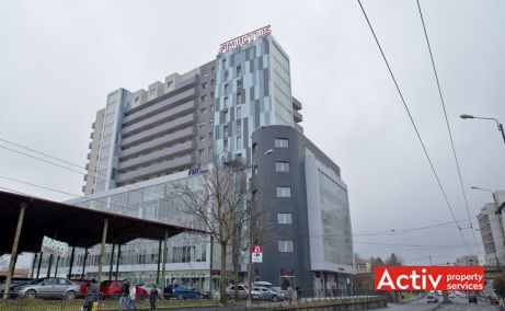 Fructus Plaza spațiu de birouri Timișoara strada Gheorghe Lazăr
