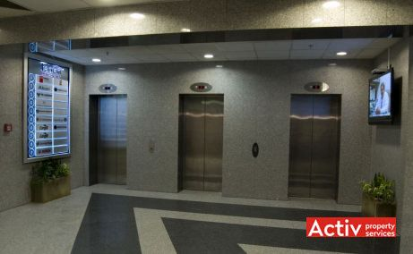Băneasa Business Center spații birouri zona nord DN1 imagine interior lift