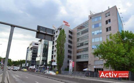 Băneasa Business Center spațiu de birouri nord vedere acces DN1