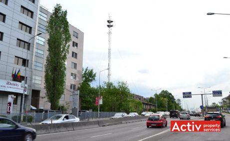 Băneasa Business Center vedere catre iesirea din Bucuresti