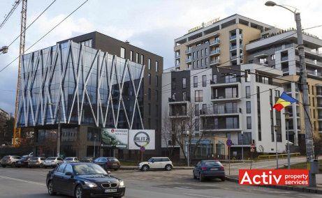 Teodor Mihali Office Building spații de birouri Cluj-Napoca Iulius Mall perspectivă zonă
