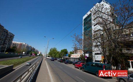 Mihai Bravu 215 spațiu de birouri metrou imagine pasaj Piața Muncii
