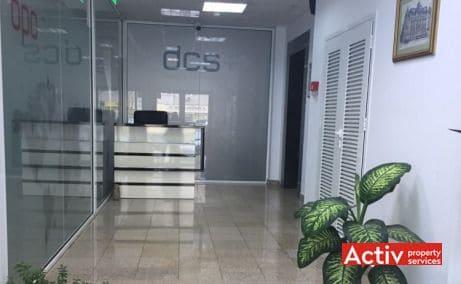 Mihai Bravu 215 birouri de închiriat în București metrou Piața Muncii recepție