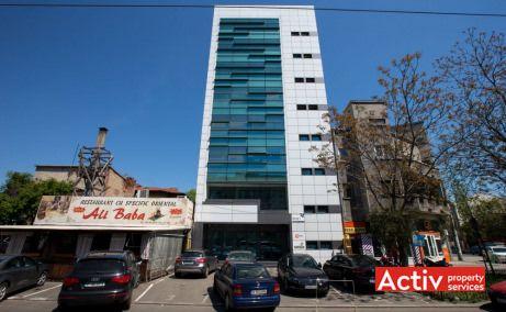 Mihai Bravu 215 spații birouri metrou Piața Muncii vedere fațadă
