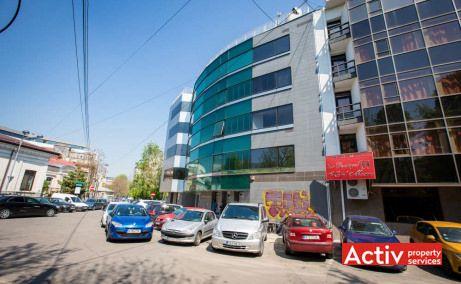 Jupiter House închirieri birouri zonă centrală zona metrou Piața Romană, vedere stradală