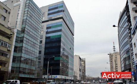 Cube Offices Victoriei spaţii birouri centru lângă metrou Piața Victorie, vedere stradală