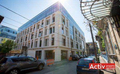 The Landmark inchiriere birouri zona centrala în Bucureşti, vedere dinspre strada Vasile Alecsandri, ofertă actualizată 2018