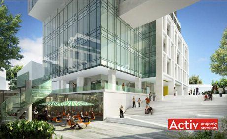 The Landmark închiriere birouri zona centrală lângă Piața Victorie, vedere stradală