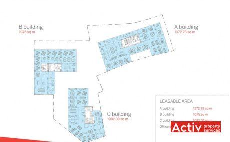 The Landmark plan complex clădiri, închirieri spații de birouri București în centru Bucureşti zona Piaţa Victorie