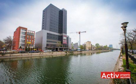 Riverside Tower imagine de vis-a-vis Regie din Splaiul Independenței - oferă spații birouri în zona vest a Bucureștiului