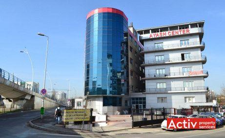 Ayash Center imagine de pe podul Basarab - oferă spații de birouri metrou Grozăvești în Bucureşti