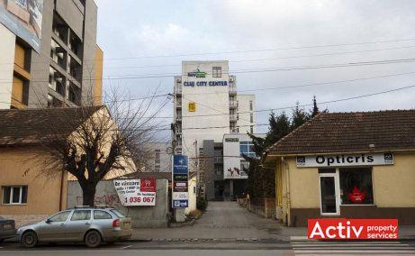 Cluj City Center spaţii birouri Cluj în zonă centrală, imagine clădire