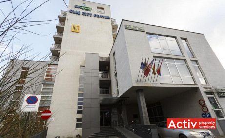 Cluj City Center spaţii birouri de închiriat Cluj în zonă centrală vedere faţadă