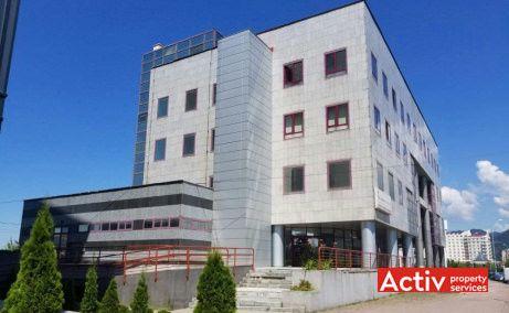 Unirii 20 vedere stradală spații de birouri în Baia Mare apropiere Camera de Comerț și Industrie