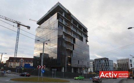 United Business Center Riviera imagine de pe strada Teodor Mihali - oferă spații birouri Cluj