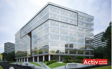 United Business Center Riviera clădire în construcție spații birouri Cluj Napoca în apropiere Iulius Mall