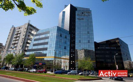 Phoenix Tower imagine stradală de pe Calea Vitan, închirieri birouri centru lângă Mall Vitan București
