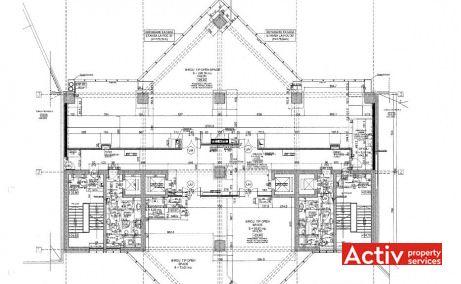 Phoenix Tower plan general - închiriere birouri zonă centrală a Bucureștiului lângă Mall Vitan