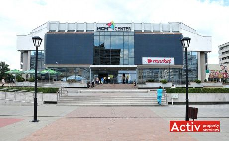 MCM Center închirieri spații birouri centru în Iași zonă ultracentrală pe Strada Anastasie Panu