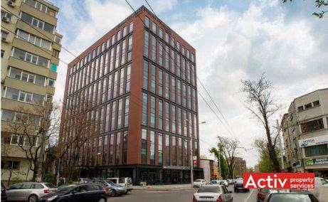 Ștefan cel Mare Building spații birouri zona centrală a Bucureștiului vedere stradală din strada Tunari