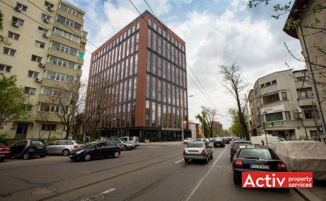 Ștefan cel Mare Building - închirieri spații birouri centru cu vedere stradală din strada Tunari